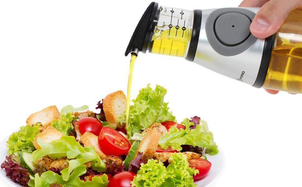 make salas by measuring oil bottle dispenser