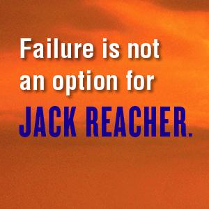 Failure is not an option for Jack Reacher;jack reacher;lee child;new lee child book;books for dad