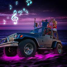 RGB Car Underglow Lights with App Control