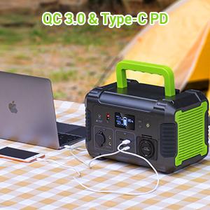 qc 3.0 amp; type-c pd