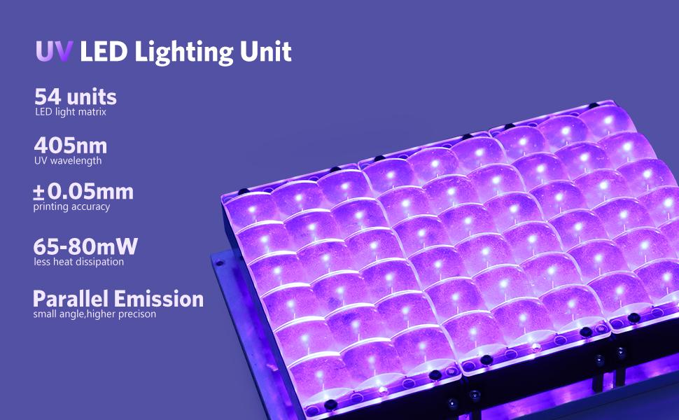 ELEGOO SATURN RESIN 3D PRINTER UV LED LIGHT SOURCE