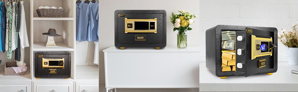 fingerprint safe box