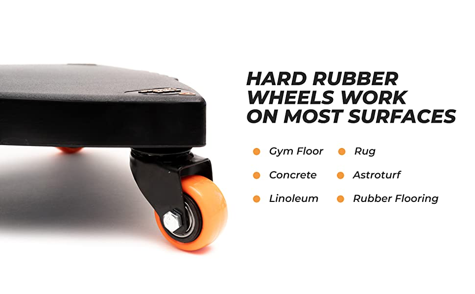 wheels work on any surface