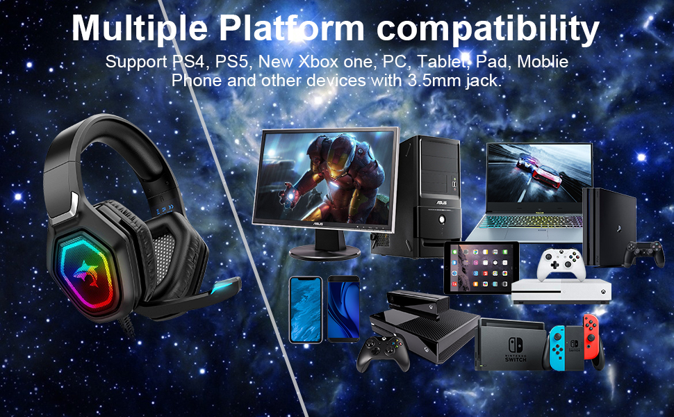 Multiple Platform Compatibility