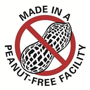 Made in a peanut-free facility