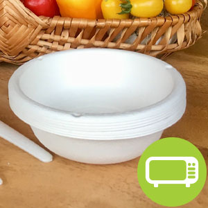 Eco-Products Bowls amp; Plates - Hot Food Friendly amp; Microwaveable