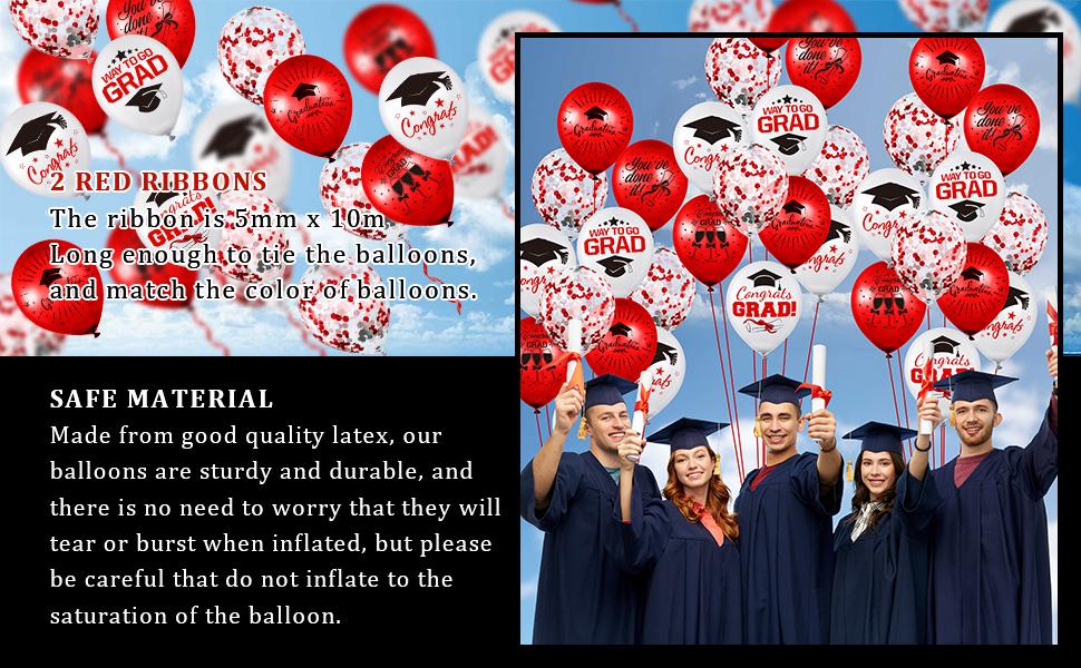 Graduation Party Balloon Set