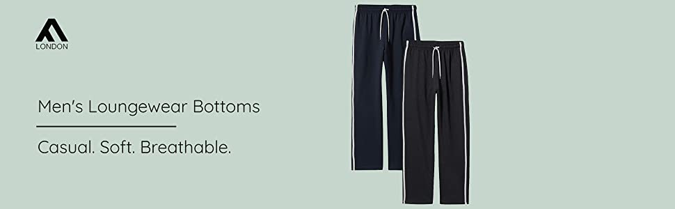 FM London Men's Loungewear Bottoms