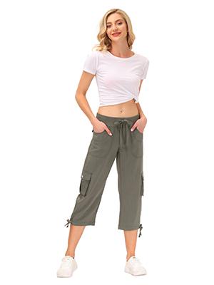 Womenamp;#39;s Cargo Hiking Capri Pants