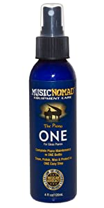 The Piano ONE All in 1 Cleaner, Polish and Wax for Gloss Pianos