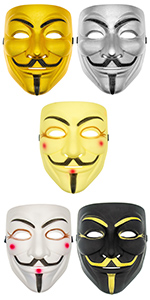 V for Vendetta Mask (5 Colors)