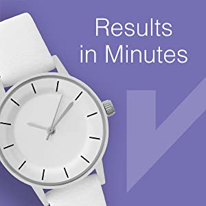 fast results in minutes