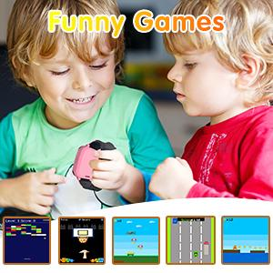 Phone watch kids with games