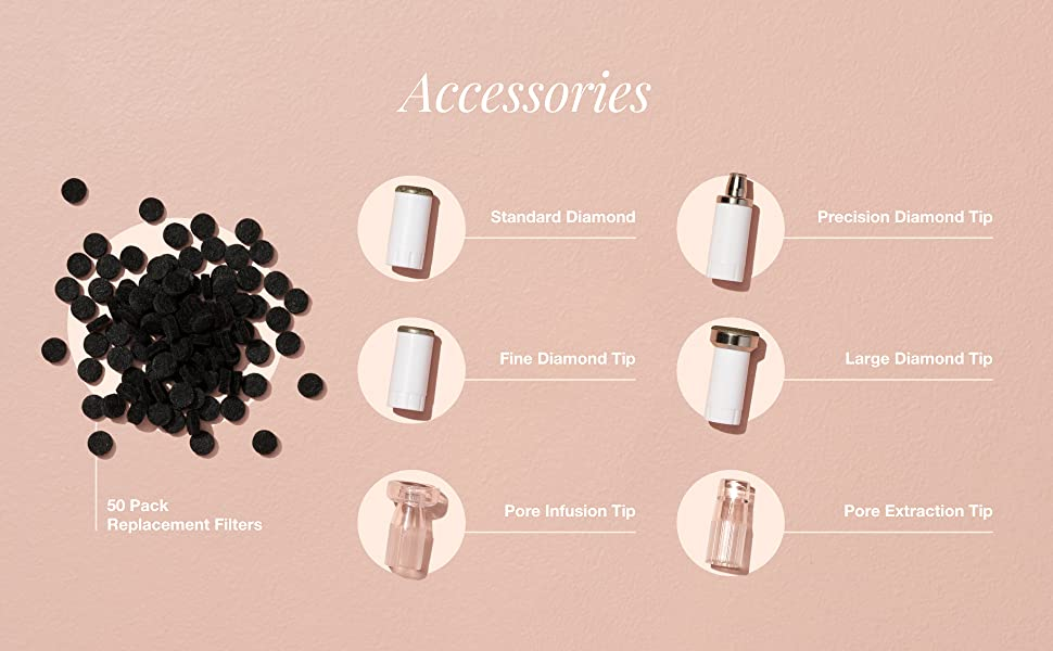 Microdermabrasion Accessories