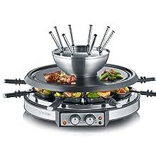 Combiné raclette - fondue