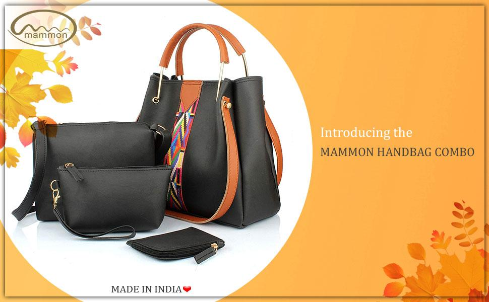 introducing the mammon handbag combo