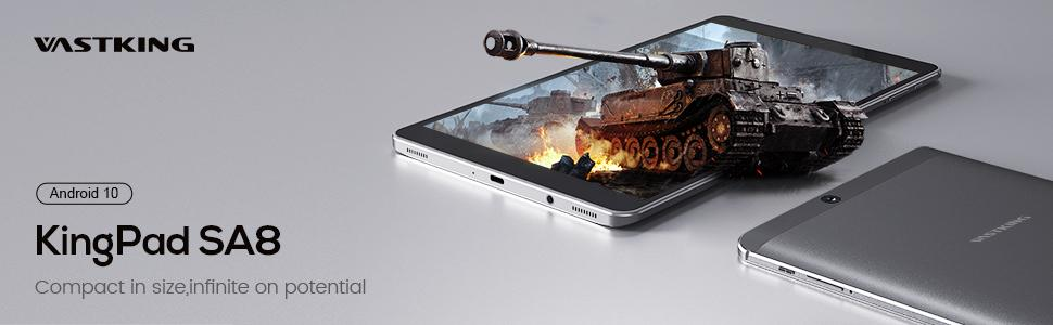 Vastking KingPad SA8 8 inch Android tablet - Compact in size, infinite on potential
