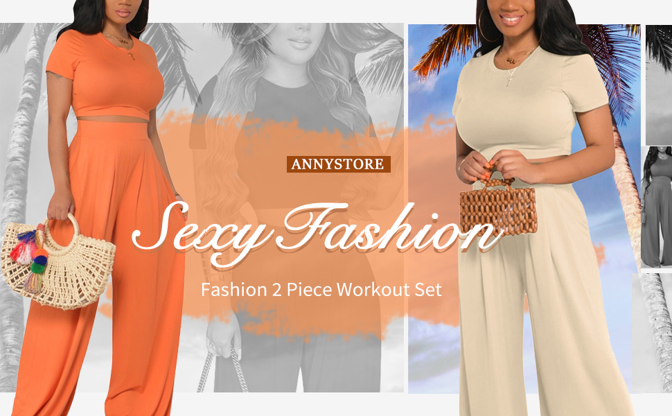 solid color 2 piece outfit