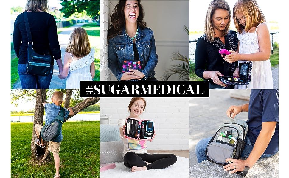 Sugar Medical Diabetic Diabetes Supply Case Lifestyle Photos