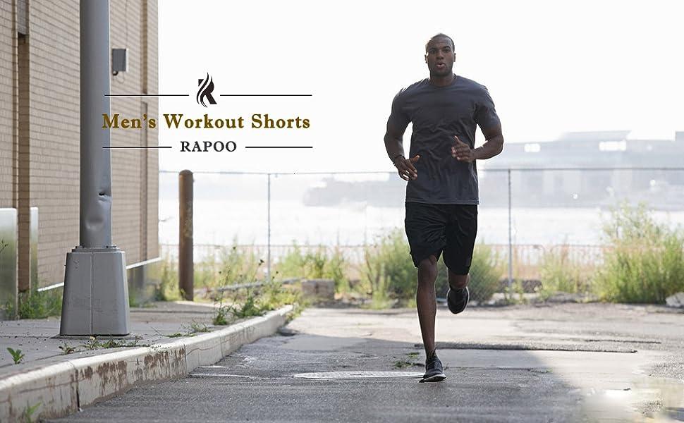 mens exercise shorts