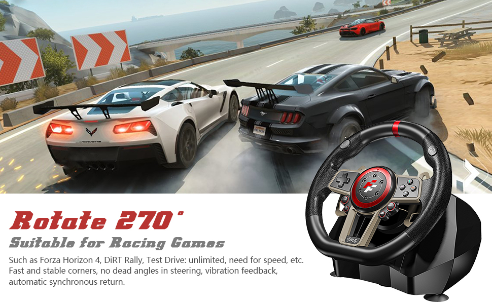 Game Racing Wheel Rotate 270