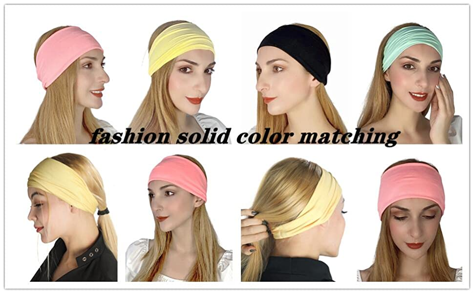 fashion solid color matching