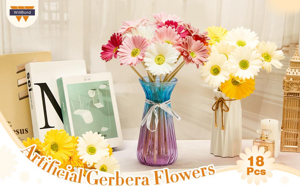 Artificial Gerbera Flowers
