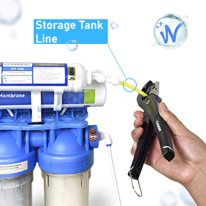 Cut Tank Line to Install Pressure Sensor