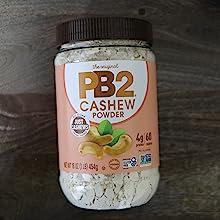 Cashew Cashews pbfit  nakedpb naked powdered peanut butter powder protein Vegan non-gmo gluten-free