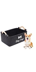 dog toy storage dog toy basket dog leash