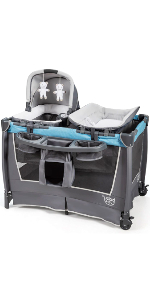 4 in 1 baby playard with changing table