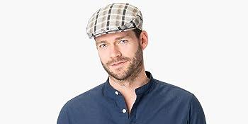 Male with Lipodo flat cap