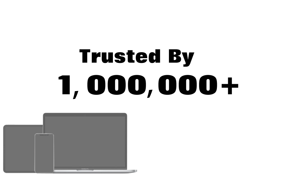 Trusted by 1000000+