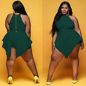 women plus size rompers jumpsuits