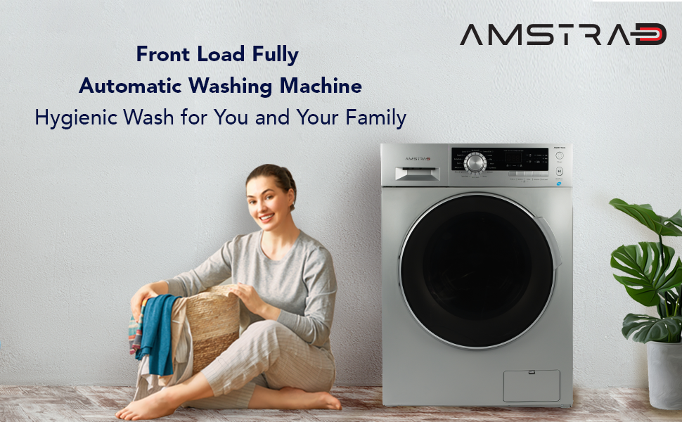 amstrad front load fully automatic washing machine 6kg 7kg