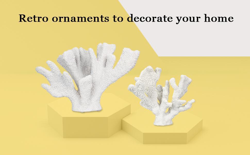 coral statue