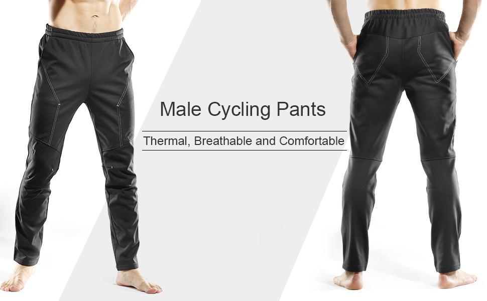 pants cycling thermal breathable comfortable