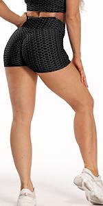texturerade leggings med fickor
