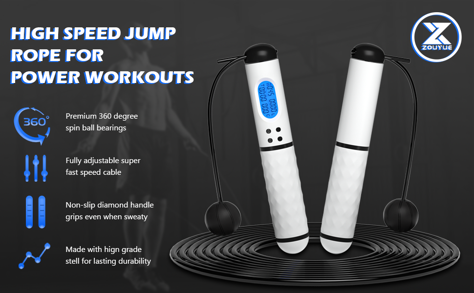 Jump rope functions