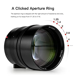 A Clicked Aperture Ring
