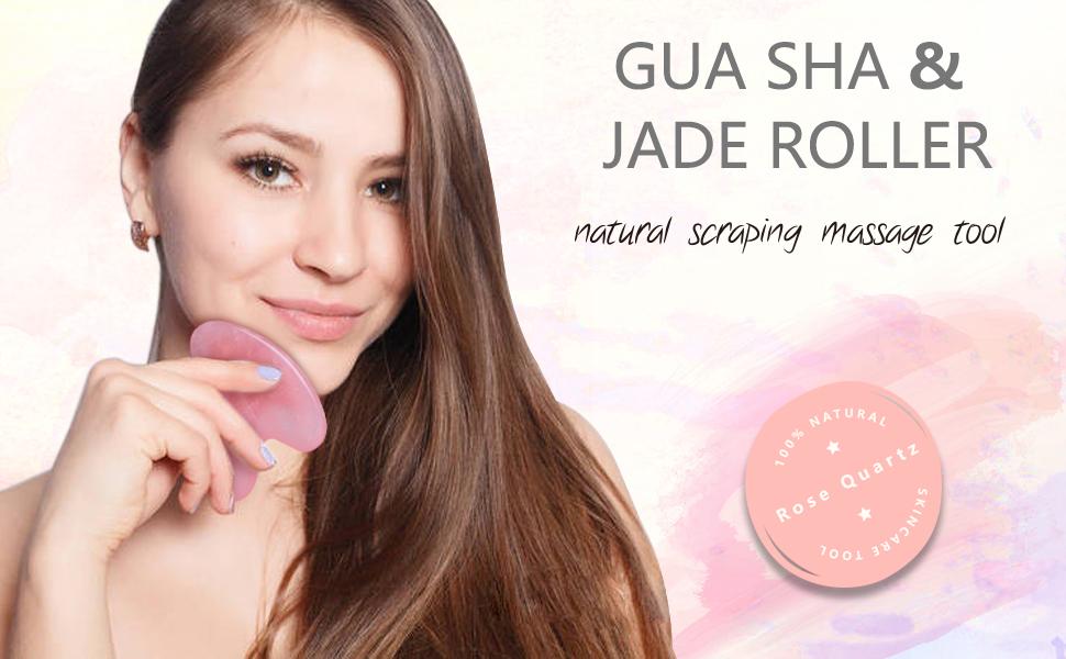GUA SHA & JADE ROLLER