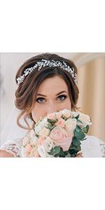 bride hair accessories wedding