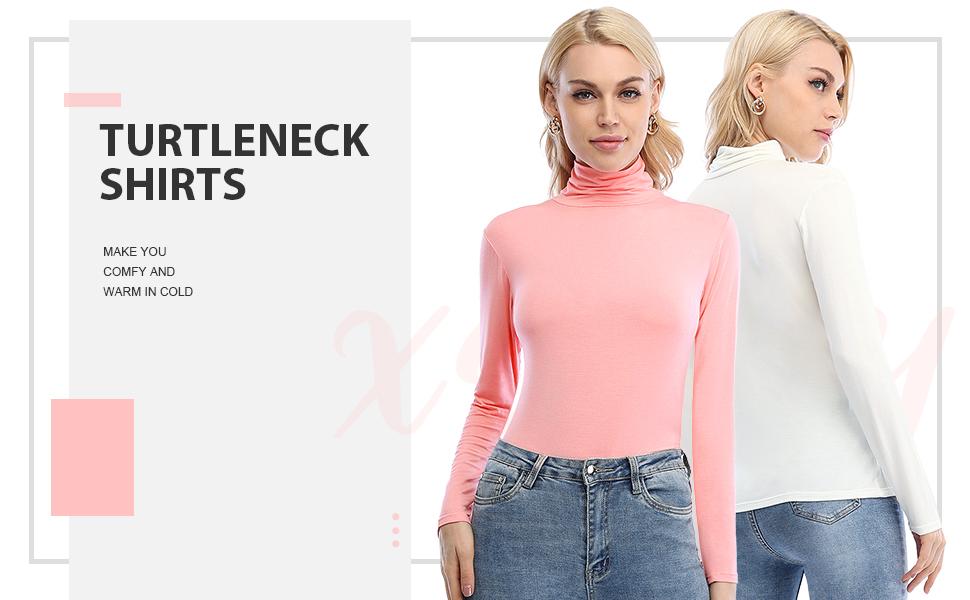 women turtleneck