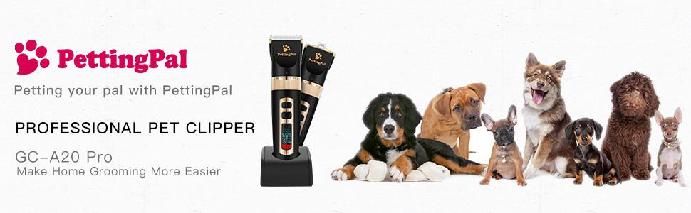 PettingPal Dog Grooming Clippers