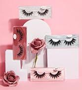 eyelashes lashes pack false lashes mink eyelashes