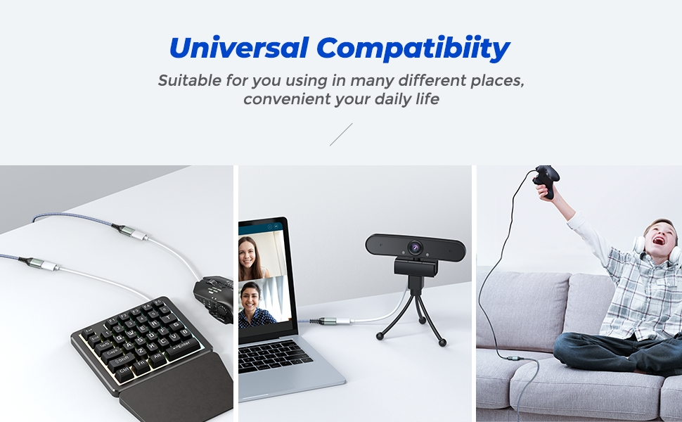 universal compatibility for usb extension cable