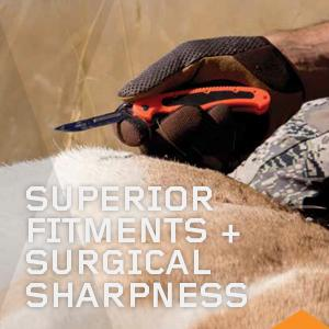 Superior Fitments & Surgical Sharpness