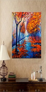 Paint by Numbers Kit for Adults by Alto Crafto DIY Paint by Numbers Landscape