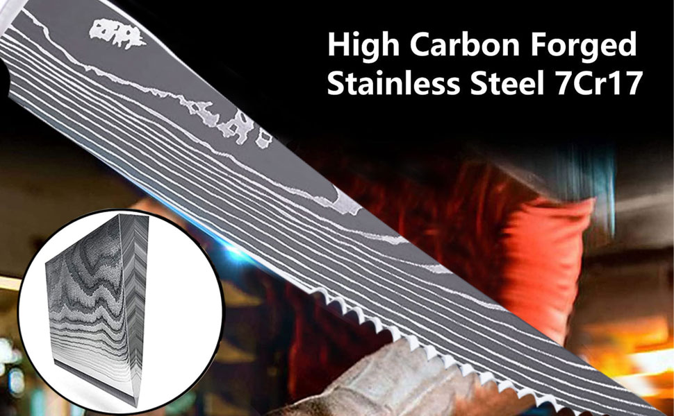 High-carbon Stainless Steel  Steak Knife