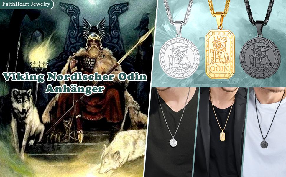 Viking Odin Halskette